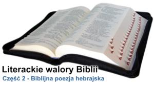Biblijna poezja hebrajska