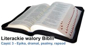 Epika, dramat, psalmy, rapsod