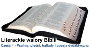 Psalmy, pieśni, ballady i poezja dydaktyczna