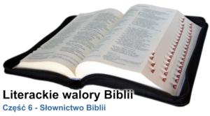 Słownictwo Biblii