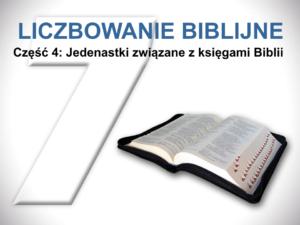 Jedenastki związane z księgami Biblii