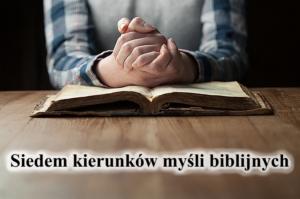Siedem kierunków myśli biblijnych