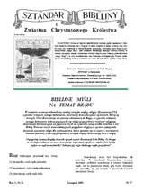 Sztandar Biblijny nr 057
