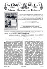 Sztandar Biblijny nr 113