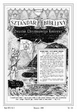 Sztandar Biblijny nr 121