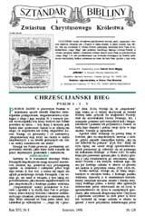 Sztandar Biblijny nr 126