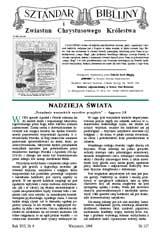 Sztandar Biblijny nr 127