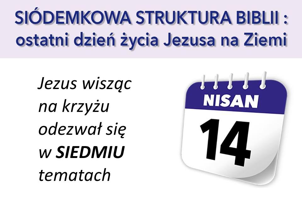 Jezus wisząc na krzyżu odezwał się w SIEDMIU tematach