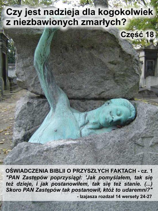 Oświadczenia Biblii o przyszłych faktach - cz. 1
