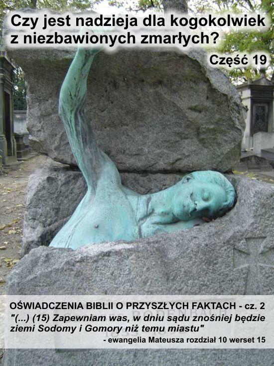Oświadczenia Biblii o przyszłych faktach - cz. 2