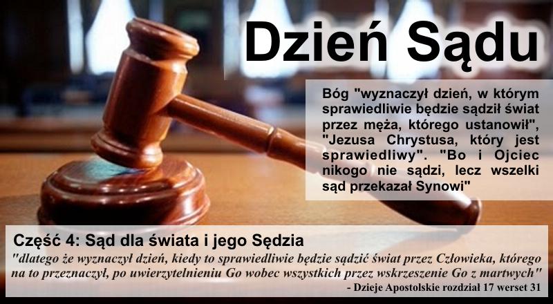 Sąd dla świata i jego sędzia