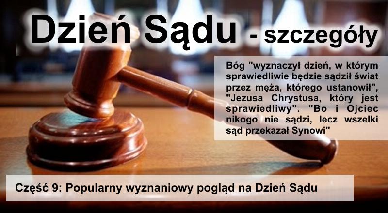 Popularny wyznaniowy pogląd na Dzień Sądu