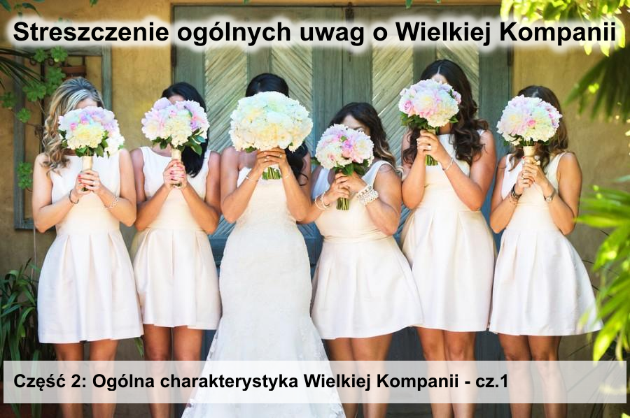 Ogólna charakterystyka Wielkiej Kompanii - cz.1
