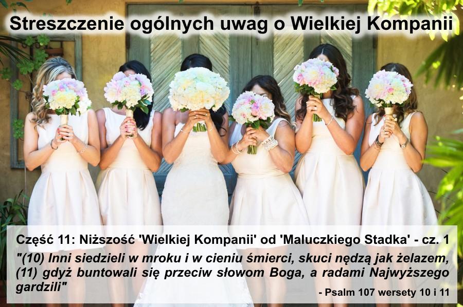 Niższość 'Wielkiej Kompanii' od 'Maluczkiego Stadka' - cz.1