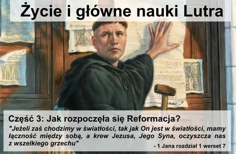 Jak rozpoczęła się Reformacja?