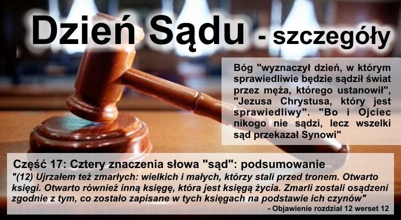 """Cztery znaczenia słowa """"sąd"""": podsumowanie"""
