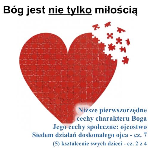 Siedem działań doskonałego ojca: (5) kształcenie swych dzieci - cz.2