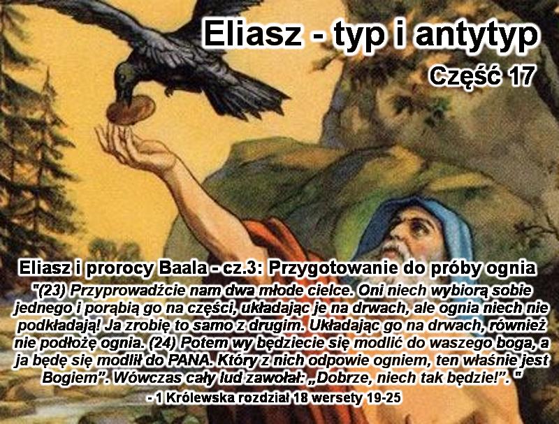 Eliasz i prorocy Baala - cz.3: Przygotowanie do próby ognia