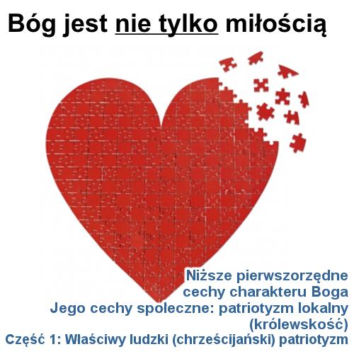 Jego cechy społeczne: patriotyzm lokalny - cz.1: Właściwy ludzki (chrześcijański) patriotyzm
