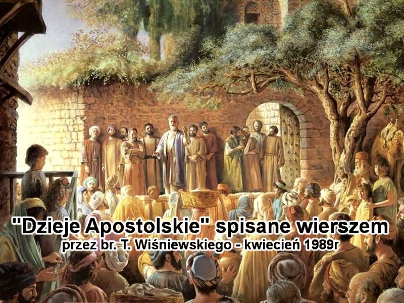 'Dzieje Apostolskie spisane wierszem'