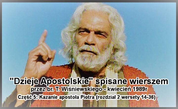 Kazanie apostoła Piotra (rozdział 2 wersety 14-36)