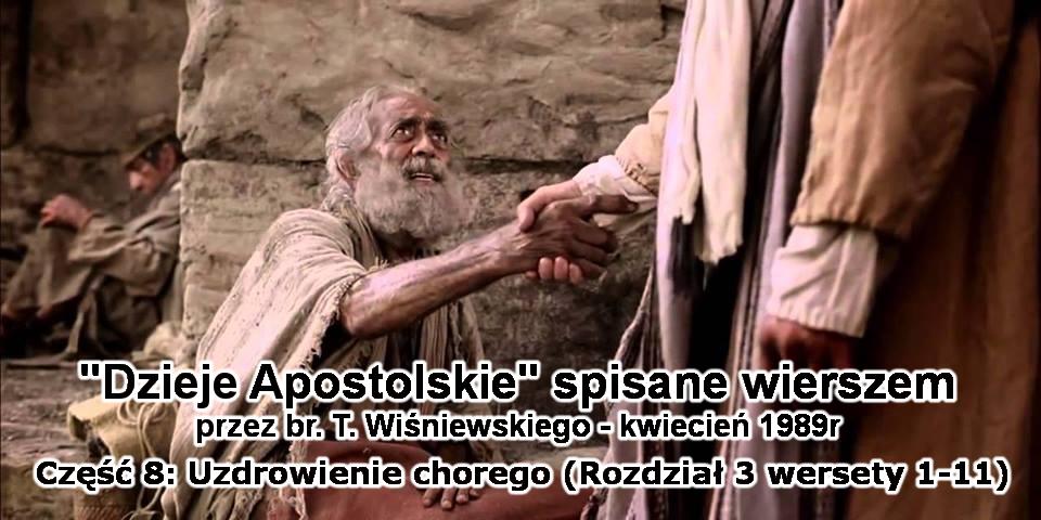 Uzdrowienie chorego (rozdział 3 wersety 1-11)