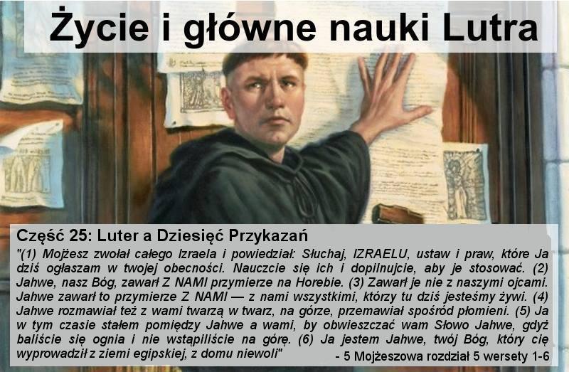 Luter a dziesięć przykazań